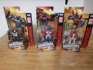 American and Canadian Sightings for Kingdom Core Class Megatron and Starscream + Video Review