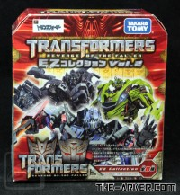 Transformers News: Images of Packaging for TomyTakara's EZ Figures