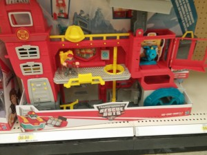 Transformers News: Transformers: Rescue Bots Gryffin Rock FireHouse playset spotted at U.S. retail