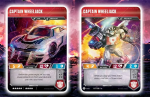 Transformers News: New Cards Revealed for Transformers TCG like Wheeljack and Air Strike Team + Strategies and Descriptions