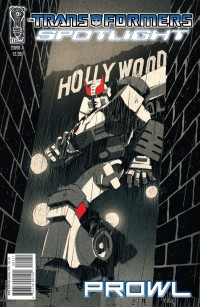 Transformers Spotlight: Prowl Five-Page Preview