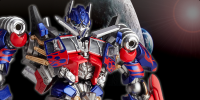 Transformers News: Official Images Of Revoltech Transformers Movie Optimus Prime