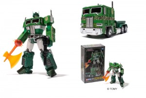 Transformers News: Official Images MP-10 Convoy BAPE version