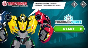 New Transformers: Robots In Disguise Team Combiners Game Released Online