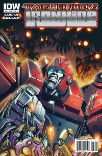 Transformers News: Transformers: Ironhide #2 Six Page Preview