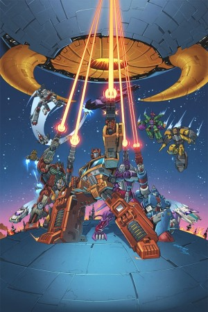 Transformers News: BotCon 2014 Comic - Diamond Edition Cover Art by Marcelo Matere and Thomas Deer Revealed