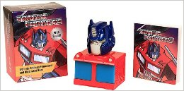 Transformers News: New Image of Transformers: Light-Up Optimus Prime Bust and Illustrated Book w/ Sound