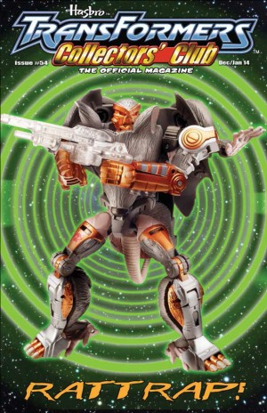 Transformers News: TFCC Magazine Reveals Generations Rattrap
