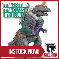 TFsource Weekend Update! TR Trypticon, LG-EX Black Convoy, KFC Transistor, Machine Robo & More!