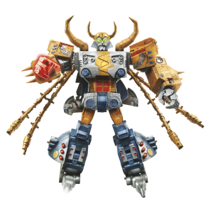Official Images - Platinum Edition Unicron with Kranix