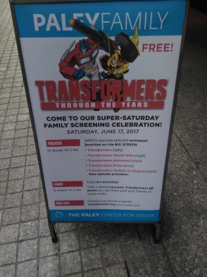 New Robots In Disguise Episode Premiering at Paley Center for Media