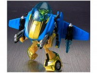 Transformers News: Video Review of Transformers Animated Jetpack Bumblebee