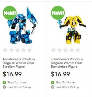 Transformers News: Transformers Robots in Disguise (2015) Figures at Toysrus.com
