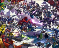 Transformers News: TFCon 2009 Alex Milne Universe Divided Litho- UPDATE TFCon Responds
