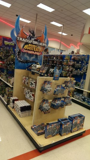 "Transformers News: ""Predacons Rising"" End Cap Display"