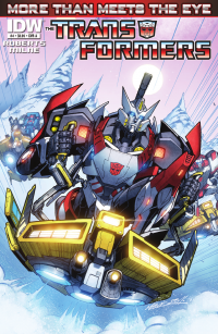 Transformers: More Than Meets The Eye Ongoing # 4 Preview