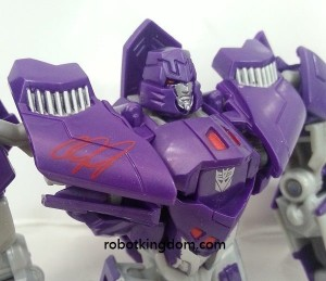 "Transformers News: Additional Images of Nike ""Calvin Johnson"" Generations Deluxe Megatron Redeco"