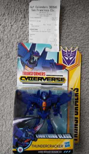 Exclusive Thundercracker from Transformers Cyberverse Found at US Retail
