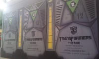 Transformers News: New Transformers: The Ride Images from Universal Studios Singapore