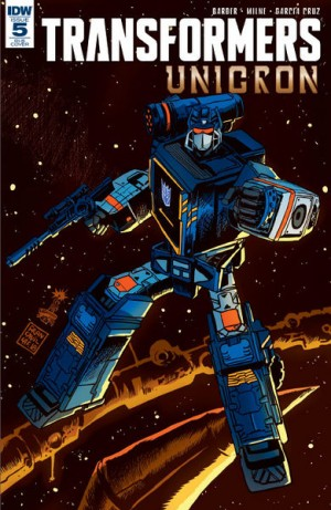 IDW Transformers Unicron #5 Review
