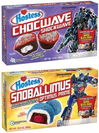 "Transformers News: ""Transform Your Treat"" with Hostess for a chance to win $25,000"