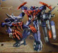 Transformers News: Beast Hunters Voyager Shockwave Toy Image, Plus Beast Hunters Guide Book Scans