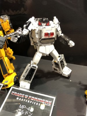 Transformers News: Takara Tomy Transformers Masterpiece MP-42 Cordon Revealed with Toy Head, Lightbar, and More