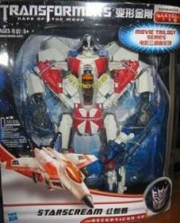Transformers News: In-Package Image: Asian Exclusive G1 Leader Class Starscream