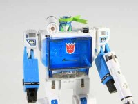 Transformers News: e-Hobby / TFCC Shattered Glass Soundwave Vs. Blaster Sticker Sheet Images
