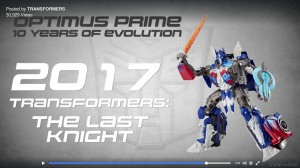 Transformers News: Evolution of Optimus Prime Toys clip, Featuring Transformers: The Last Knight Premier Edition