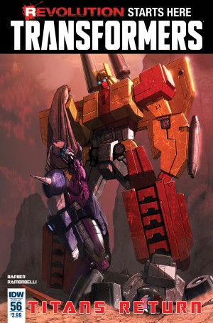 IDW The Transformers #56 Full Preview