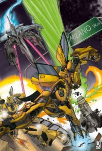 Transformers News: The Transformers invade Milano Italy