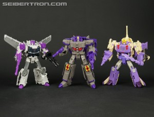 New Galleries: Transformers Legends Astrotrain, Blitzwing, Octane, Ghost Starscream, and Big Fight