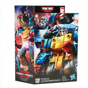 Transformers News: Video Review for Transformers Power of the Primes Punch / Counterpunch