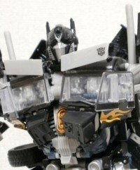 Transformers News: Toy Images of Amazon Exclusive ROTF Optimus Prime Black Version
