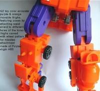 Transformers News: CrazyDevy CDMW-02 Thigh Replacement for G2 Devastator
