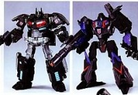 Transformers News: 2011 Tokyo Toy Show Dark Side Optimus Prime Vs Dark Side Megatron Color Schemes Revealed