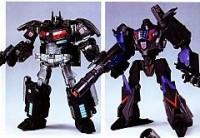 2011 Tokyo Toy Show Dark Side Optimus Prime Vs Dark Side Megatron Color Schemes Revealed
