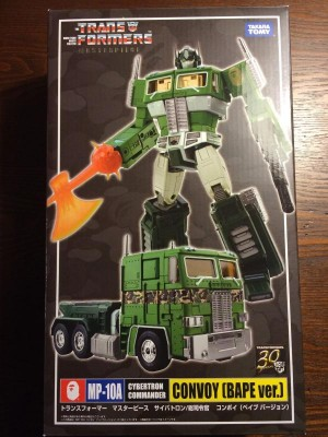 Transformers News: Buyer Beware! MP10A Bape Convoy KO Guide