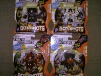 Transformers News: Transformers Bot Shots Wave 4 Retail Sighting