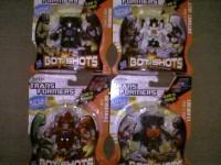 Transformers Bot Shots Wave 4 Retail Sighting