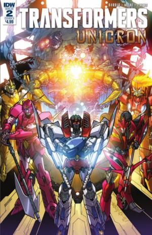 Transformers News: Full Preview for IDW Transformers: Unicron #2