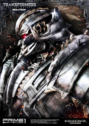 Teaser for Prime 1 Studio The Last Knight Megatron