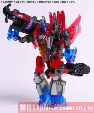 Transformers News: New Images of Million Publishing Exclusive Infiltrator Starscream