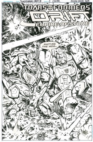 Transformers News: IDW Transformers Drift: Empire of Stone - Shane McCarthy Interview
