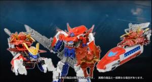 Transformers Go! Optimus Exprime Transformation Video