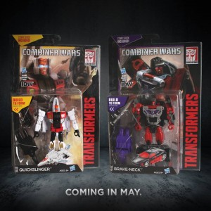 Transformers News: Official Image of Transformers Generations Combiner Wars Quickslinger and Brake-Neck