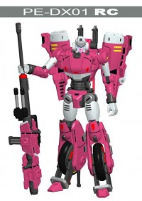 PE-DX01 RC Confirmed as Arcee Homage