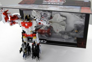 Transformers News: TakaraTomy Transformers Unite Warriors: UW-01 Superion In Box