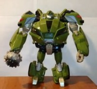Transformers News: Transformers Prime Voyager Class Bulkhead Video Review